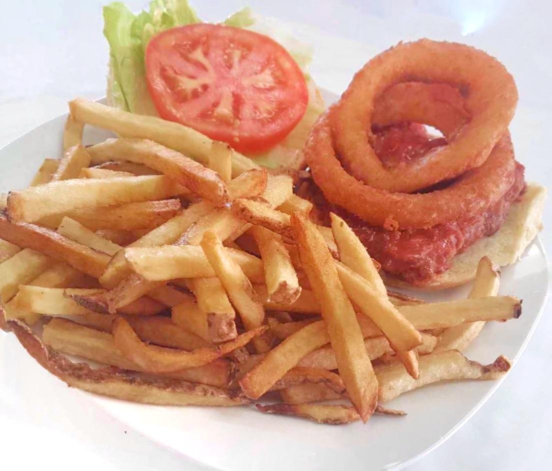 Supreme Buffalo Chicken Burger