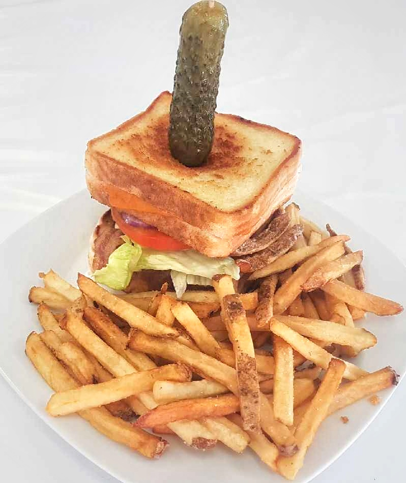 The KING Grilled Cheese Burger Meal