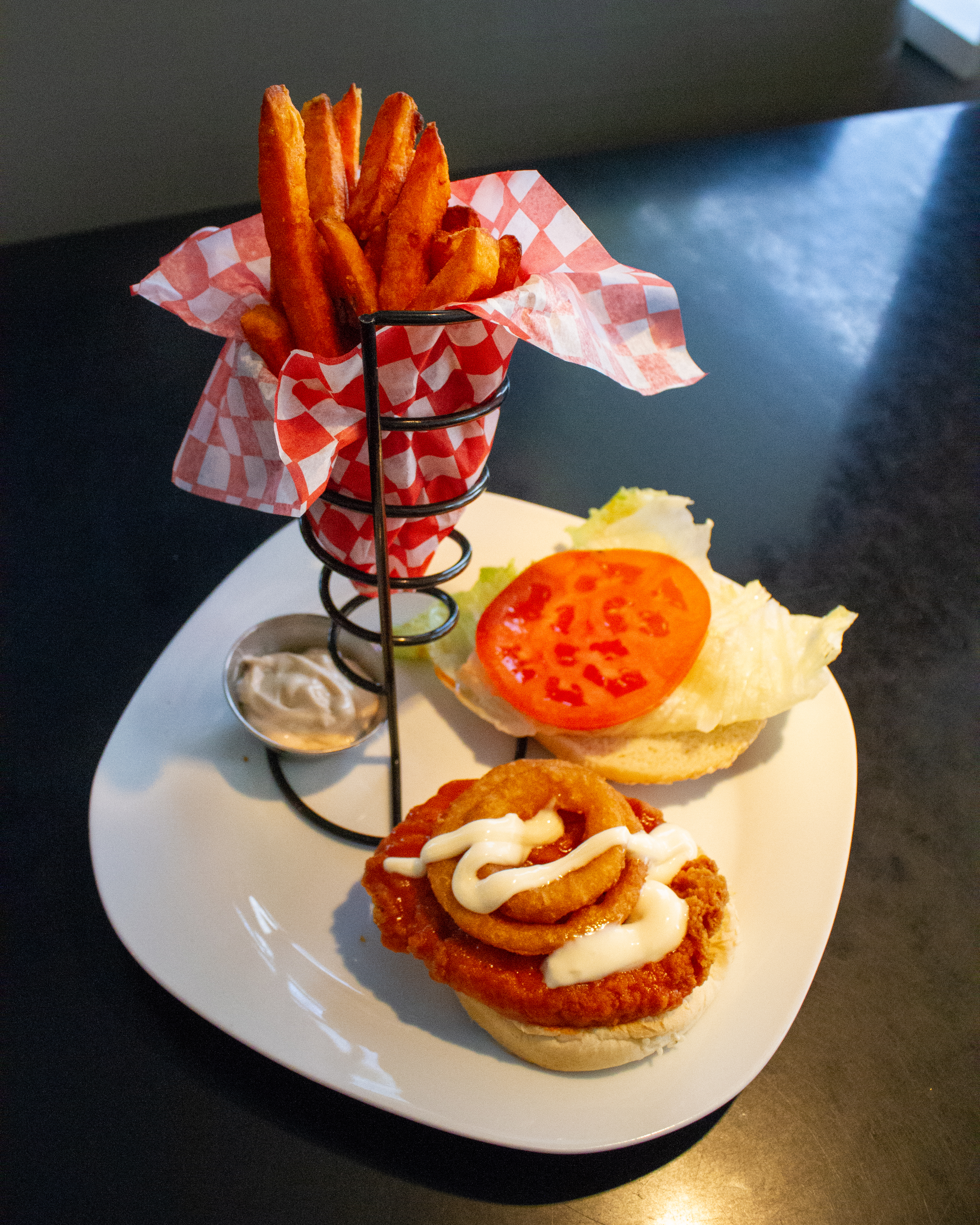 Supreme Buffalo Chicken Burger