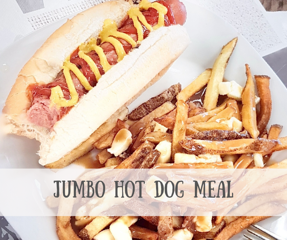 Jumbo Hot Dog Meal
