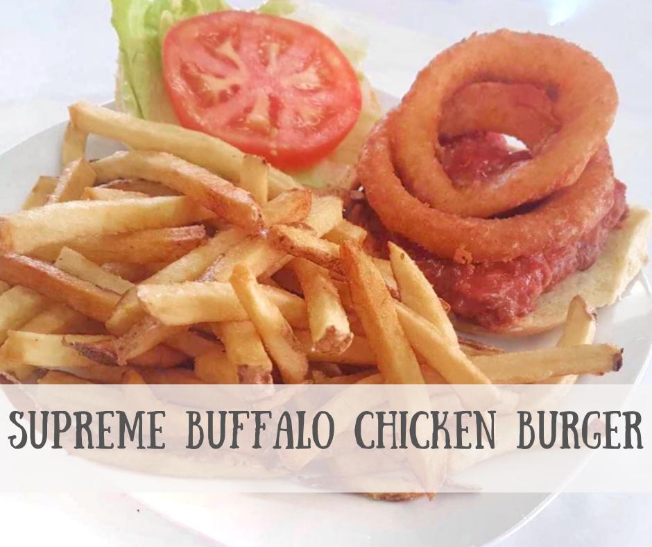 Supreme Buffalo Chicken Burger2