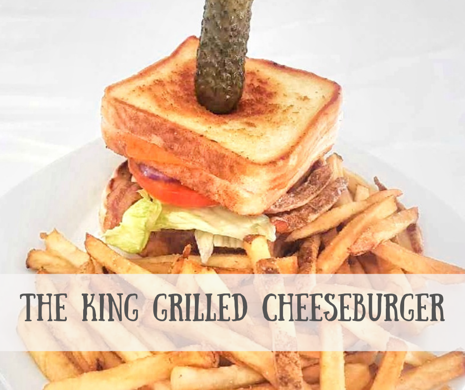 The King Grilled Cheese